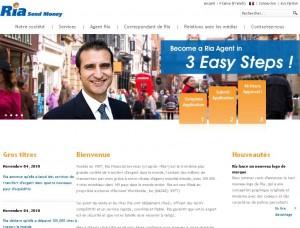 Ria transfert d'argent