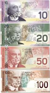Transfert d'argent Canada