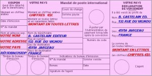 Transfert d'argent mandat cash international